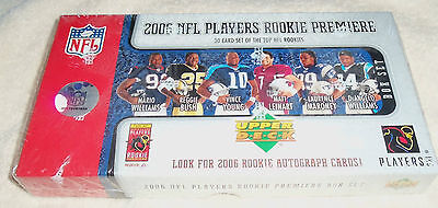 NFL : 2006 Upper Deck Rookie Box Set - 30 Cards - New Sealed + more autograph