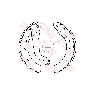 Variant1 TRW Rear Brake Shoe Set Genuine OE Quality Replacement