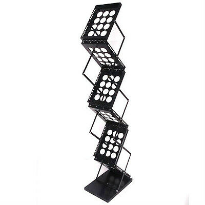 Pop up Brochure Holder Stand Literature Rack Magazines Trade Show display