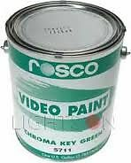 Rosco Chroma Key Green 5711 Paint - 3.79 Litre Can