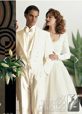 New Men's Groom Tuxedos Wedding Suits Bridal Best Man Formal Suits Custom Made