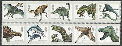 SG3532 / 41 2013 Dinosaurs Unmounted Mint Set of 10