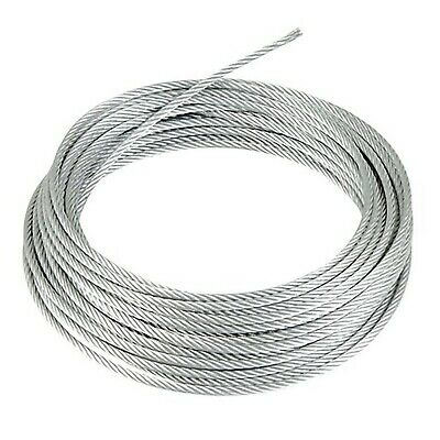 GALVANISED STEEL WIRE ROPE METAL CABLE 1mm 2mm 3mm 4mm 5mm 6mm 8mm 10mm