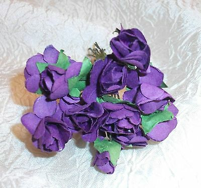 VINTAGE Parchment TINY roses cluster DOLL CLOTHES Alexander /& Ginny PEACH