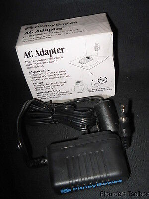 New Pitney Bowes Elpac AC Adapter for DM200 / DM300 Mailing Systems, F884012
