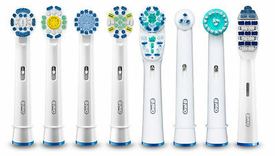 Braun Oral B Electric Toothbrush Replacement Brush Heads - Same Day Dispatch