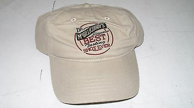 Dr Mcgillicuddy's Schnapps - Promo Embroidered Adjustable Baseball Cap Hat *new*
