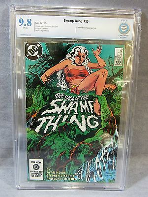 SAGA OF THE SWAMP THING #25 (John Constantine 1st app.) CBCS 9.8 DC Comics 1984