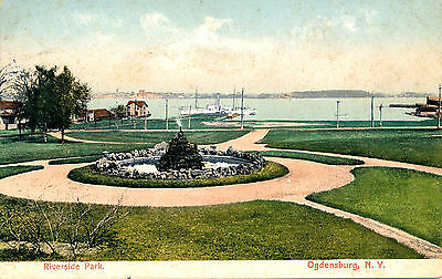Riverside Park, Ogdensburg, N.y. New York. Battleship/cruiser, Destroyer.