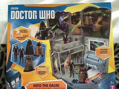 Doctor who into the dalek time zone and figure collection