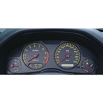100%Genuine NISMO Combination Meter For Nissan Skyline GT-R BNR34 BLACK