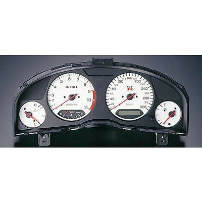 100%Genuine NISMO Combination Meter For Nissan Skyline GT-R BNR34 WHITE