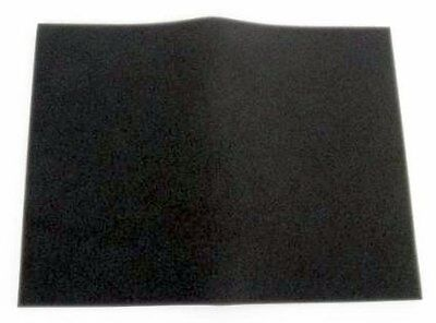 "New UNI 12""x16""x3/8"" 60PPI Universal Black Fine Foam Air Filter Sheet BF-4"