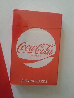 Coca-cola playing cards sealed toy island manufacturing