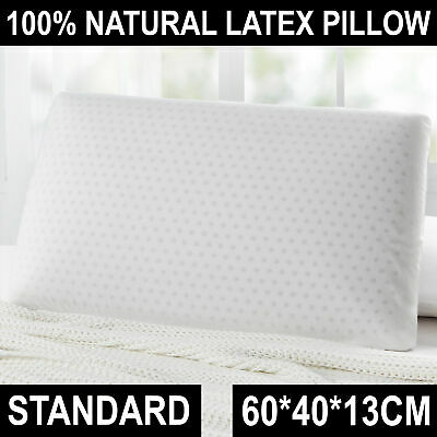 Standard LATEX PILLOW Luxurious 100% Natural Organic Textiles Pillow Hotel