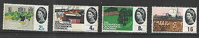 SG651p / 654p Geographical Congress Unmounted Mint Set Cat £30