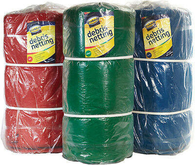 2M x 50M Scaffold RED DEBRIS NETTING Wind Shade Garden Pond Fence Plant Safety
