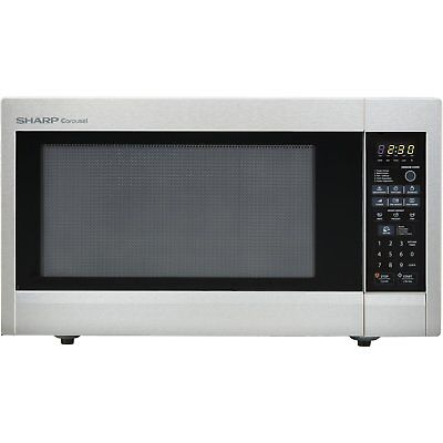Sharp R651ZS Sensor Microwave (2.2 cu.ft.), Stainless Steel, Standard New
