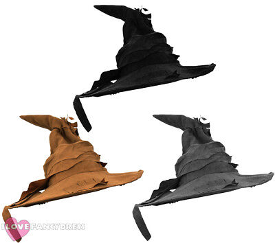 Halloween Witch Wizard Hat Fancy Dress Costume Accessory Book Film Character