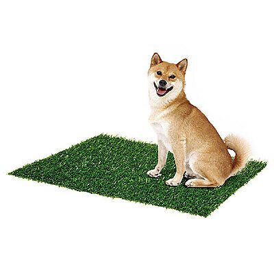 8003 Dog Cat Toilet Mat Indoor Potty Trainer Artificial Grass Turf Patch Pad