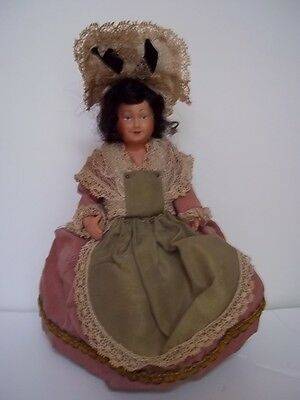 Vintage  Celluloid Ethnic Doll 5 Piece  5""
