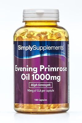 SimplySupplements Evening Primrose Oil 1000mg 360 Capsules (S281)