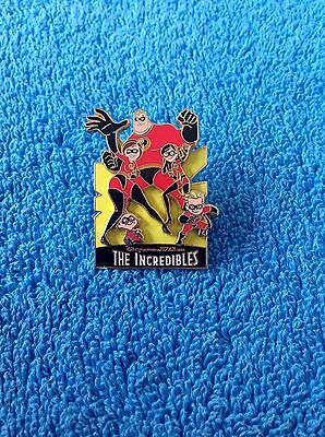 The Incredibles Family 3D 2004 Disney Pin
