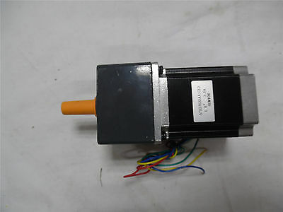 Nema34 Gearbox Stepper Motor Geared Ratio 12.5:1 86BYG 5.0A 6Nm Length 98mm CNC
