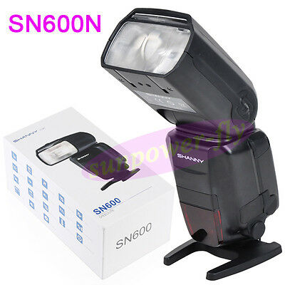 Shanny SN600N HSS 1/8000S i-TTL GN60 Flash Speedlite for Nikon D810 D800 D700