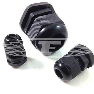 M12 M16 M32 Esr Waterproof Ip68 Cable Glands Complete With Locking Nuts