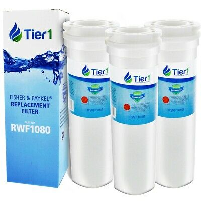 Fits Fisher & Paykel 836848 Comparable Refrigerator Water Filter 3 Pack