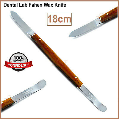Dental Fahen Wax Knife Small Porcelain Modeling Carver Orthodontist Lab Tool