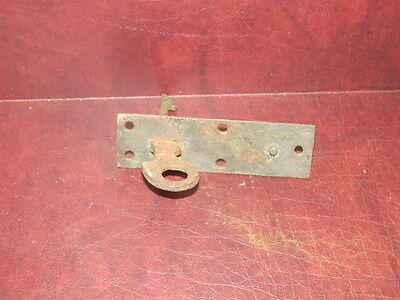 Antique Iron Barn Shed Out House Spring Latch Door Opener FC d