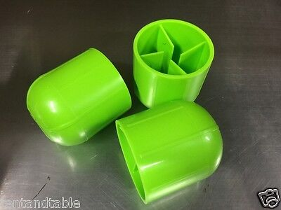50 Tent Stake Caps Green Cap Cover Anchor Awning Backyard Party Tents Canopy