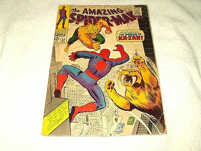 Marvel Comic The Amazing Spider-Man Issue 57 February 1968