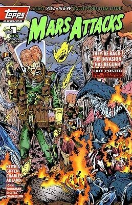 Mars Attacks (Topps Comics) #1 Of 5 May 1994 Vf
