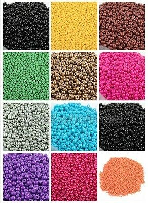 New Czech 1350 pcs 45g 3mm Round Lot Colorful Glass Seed Beads Jewelry Making