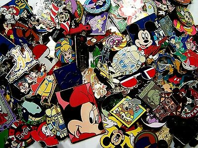DISNEY PINS 175 pin MIXED LOT FASTEST SHIPPER IN USA Great Value