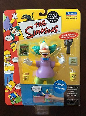Playmates The Simpsons Krusty The Clown figure