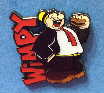Popeye Friend And Hamburger Lover Wimpy Collector Pin