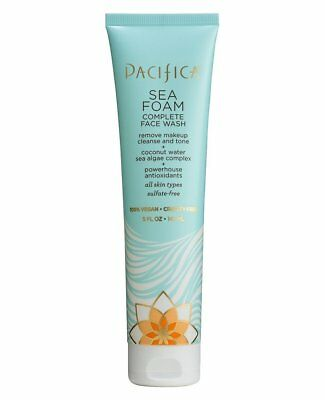 Pacifica Sea Foam Complete Face Wash 147ml 100% Vegan & Cruelty Free