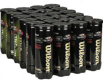 WILSON T1073 Tennis Balls US OPEN Regular Duty 1 Case (72 balls/24 cans)