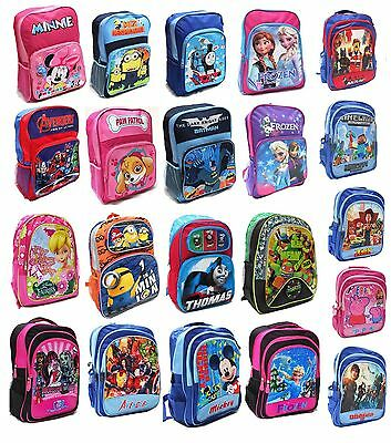 New Large Kids Backpack Boys Girls School Bag Children Cartoon Paw Patrol Minnie