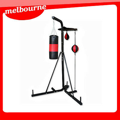 **VIC PICKUP*** Multi Station Boxing Stand with Punching Bag & speed ball