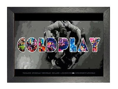Coldplay  (1) Rock Band Metal Legends Star Classic Oldschool New Poster