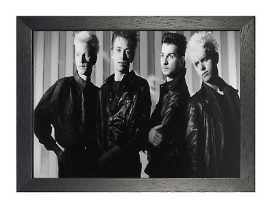 Depeche Mode 4 Photo English Electro Rock Band Picture Vintage Music Poster