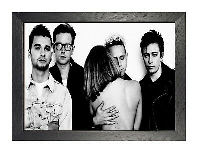 Depeche Mode 5 Photo Rock Band Print Heavy Metal Picture Vintage Music Poster
