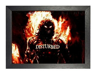 Disturbed (3) Rock Band Metal Legends Star Classic Oldschool New Poster