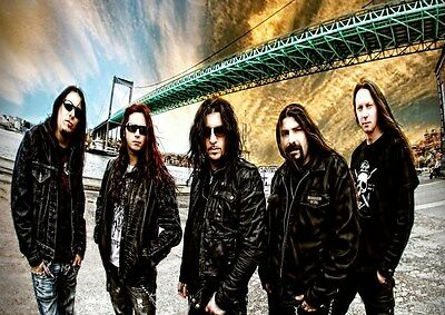 Firewind 5 Photo Rock Band Print Heavy Metal Legends Picture Retro Music Poster