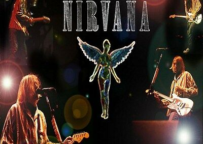 Nirivana (26) Rock Band Metal Legends Star Classic New Poster